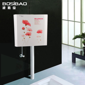 卫生间水箱厕所抽水卫浴水箱节能冲水器蹲便蹲厕坑马桶挂墙壁挂式
