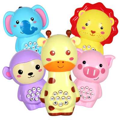 Multi-function Puzzle Mini Animal Story Early Learning Baby Toys With Light Music Learning