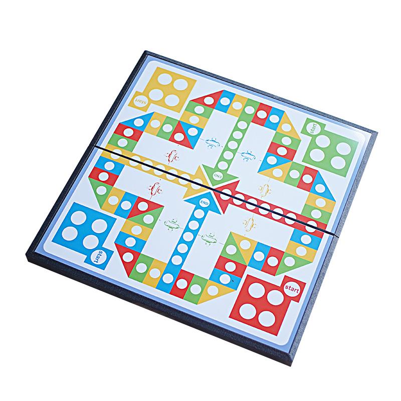 奇棋乐 磁性飞行棋 儿童大号磁铁便携式飞行棋玩具棋类游戏益智棋
