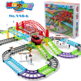 Boys, boys, boys, baby girls, children, Thomas, train toy, railcar combination, 1-2-3-4 years old, Thomas, train set track, electric charging