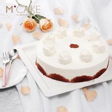 mcake蔓越莓红丝绒奶油生日宴会蛋糕上海北京杭州苏州