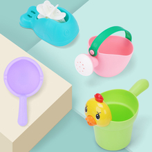 Baby Bath Toy Boys and Girls Waterbug Sprinkler Water Pot Baby Shampoo Cup Children Flowers Sprinkler Water Play Beach