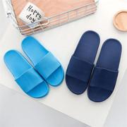 室内浴室便宜拖鞋1-3元批发女夏家居条纹轻便加厚防滑洗澡 凉拖鞋