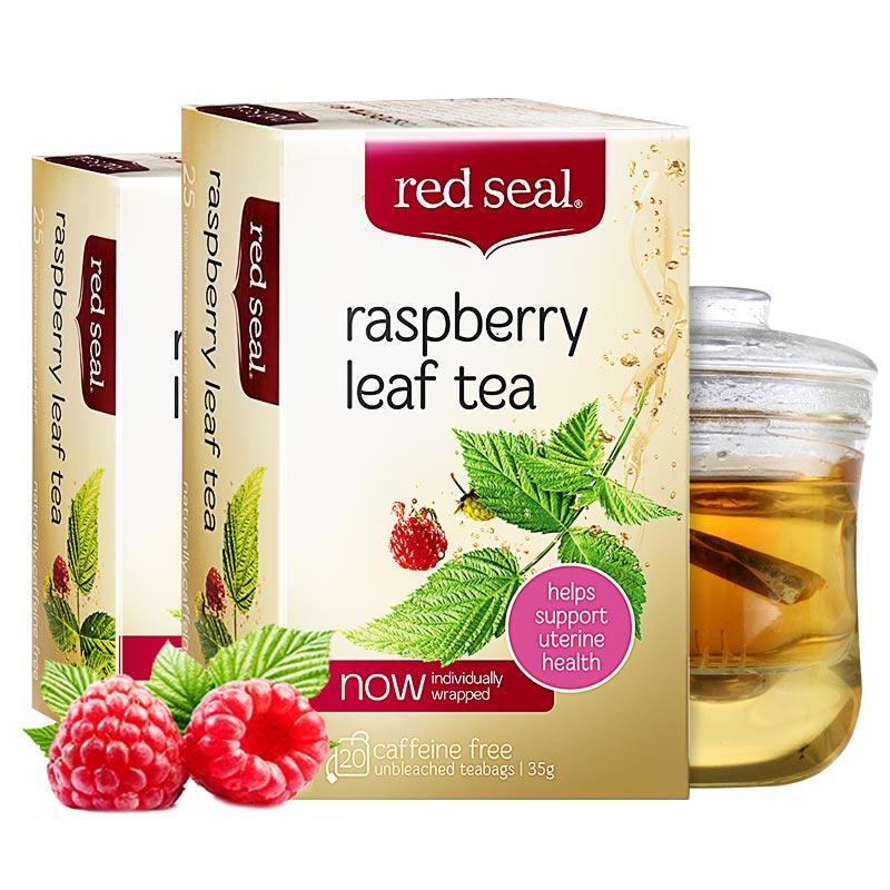 【2盒】red seal红印覆盆子叶茶 软化宫颈助宝妈顺产 新西兰进口