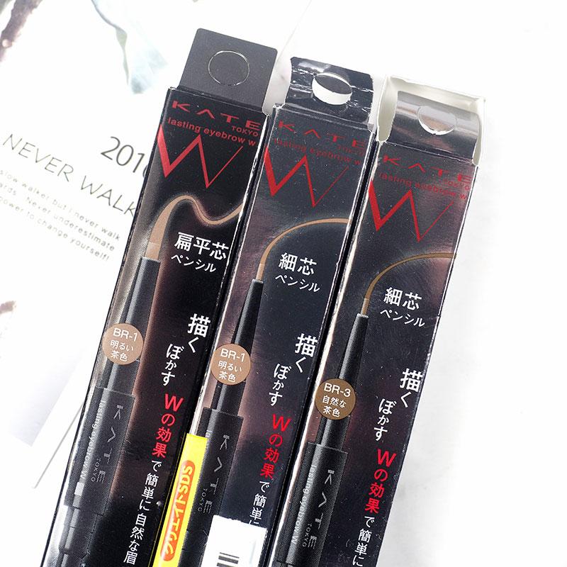 日本KATE/凯朵 双效立体眉笔眉粉 自然长久一字眉 防水防汗图片