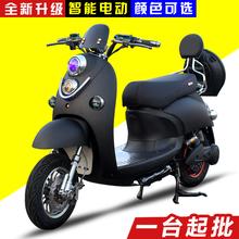 小龟王电动车60v72v小绵羊电动摩托车自行车电瓶车踏板车男女双人