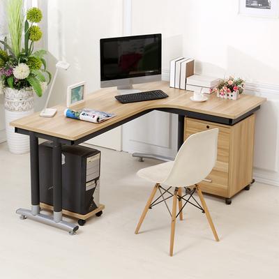 现代简约转角台式电脑桌办公桌家用欧式简易拐角书桌写字台写字桌