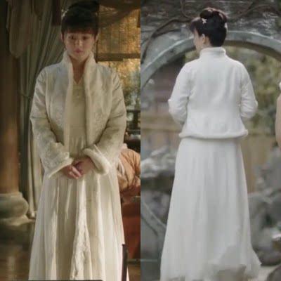 知否知否应是绿肥红瘦赵丽颖盛明兰同款汉服女中国风刺绣襦裙套装