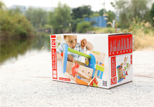 出口德国H*p*儿童工具盒 锻炼动手能力 螺丝螺母足组合套装 特价