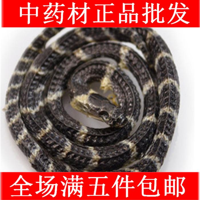 中药材正品批发 野生金钱白花蛇  金钱小白花蛇1只55元