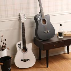 38寸吉他初學者民謠吉他男女學生入門吉它新手練習樂器