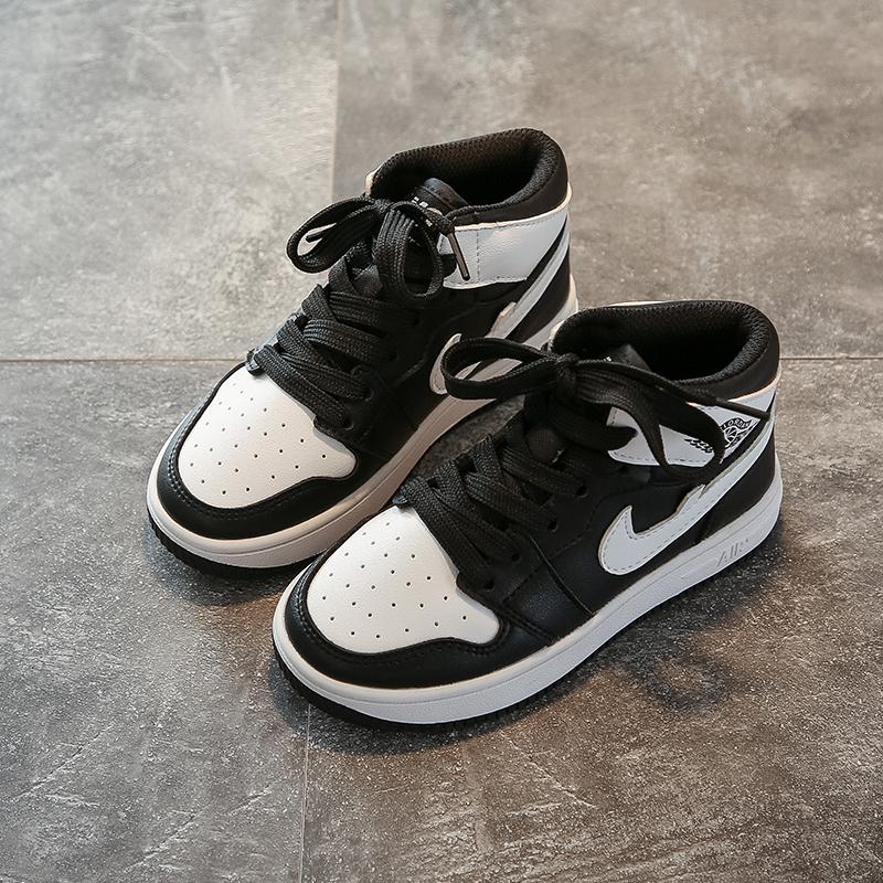 大童aj1秋季儿童运动鞋女童板鞋高帮男童篮球鞋AJ1儿童鞋春aj童鞋