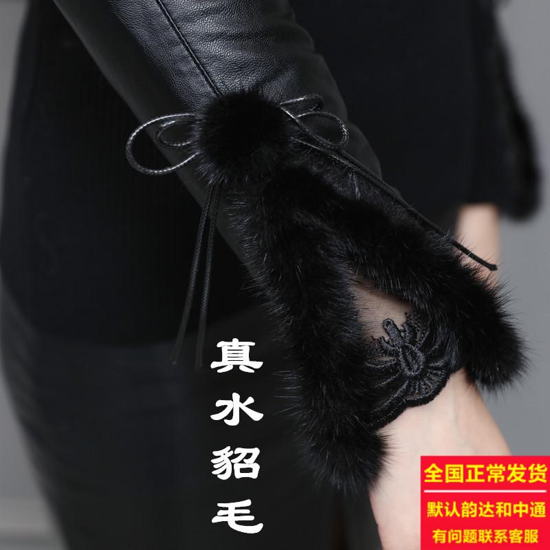 羽绒袖打底衫女冬针织衫