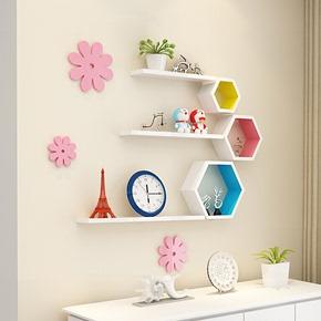墙上置物架客厅电视沙发背景墙面隔板影视墙壁挂卧室墙壁柜装饰架