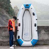 铝合金橡皮艇钓鱼船硬底耐磨皮划艇快艇充气船拉丝底加厚冲锋舟