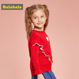 Balabala Children's Sweaters and Girls'Knitted Sweaters