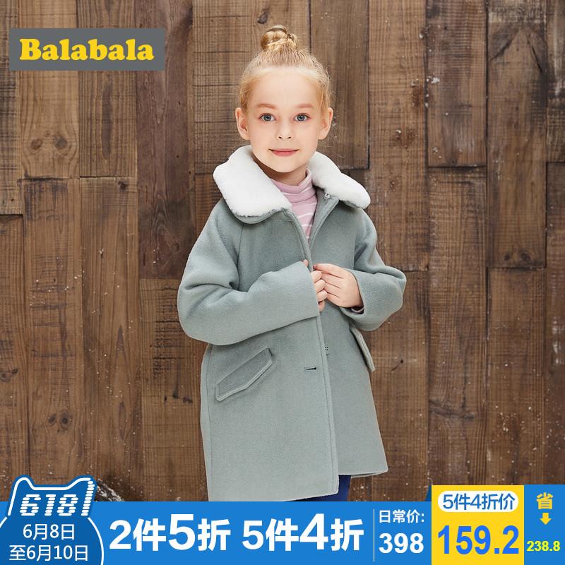 巴拉巴拉大衣女童