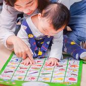 乐乐鱼儿童早教汉语拼音有声挂图宝宝声母韵母整体认读音节表挂图
