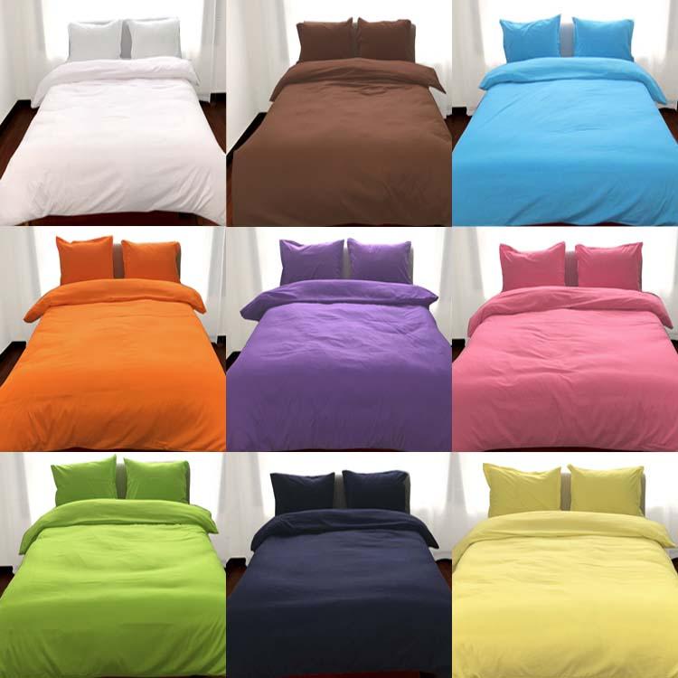 床上四件套白色纯色