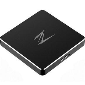 朗科(Netac)Z2 256G USB3.0 移動SSD固態硬盤 便攜式存儲 黑色