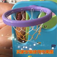 Professional children's basketball net basket net basket net bag kindergarten special infant nets 2 Pack