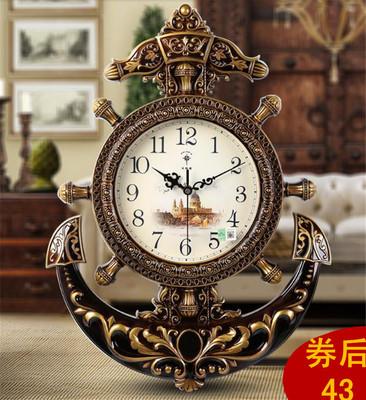 钟表挂钟客厅地中海年中大促