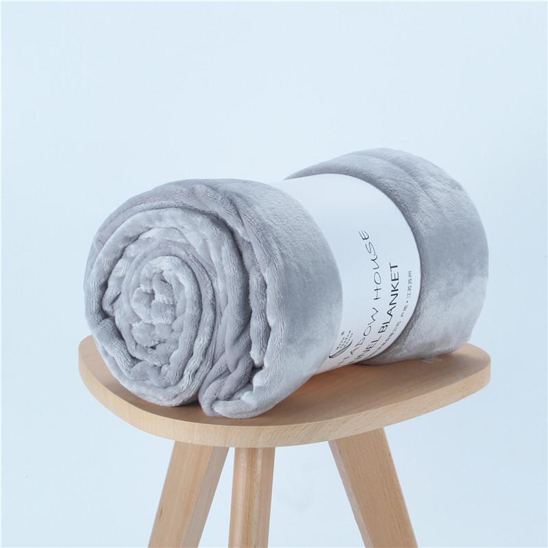 毛毯盖毯珊瑚绒