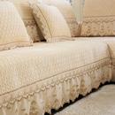 冬季毛绒沙发垫田园