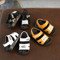 Summer baby sandals 1-3 years old boy non-slip soft bottom 3-6 years old baby toddler children children's beach shoes