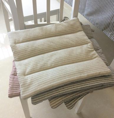 日式布艺夏季简约榻榻米坐垫椅垫学生加厚透气防滑凳子餐椅办公室网上专卖店