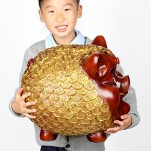 大号万福金猪存钱罐可爱小猪储蓄罐工艺品摆件时尚 创意客厅装 饰品