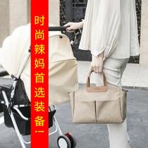 多功能妈咪包待产包大容量旅行包时尚母婴包可挂童车手拎斜挎包