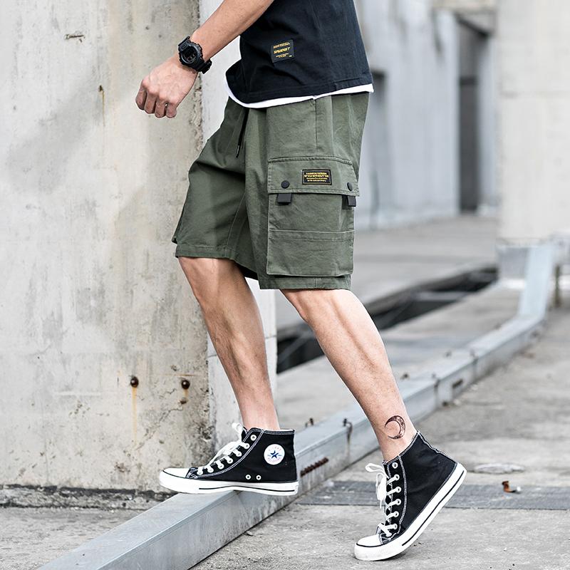夏季多口袋中裤