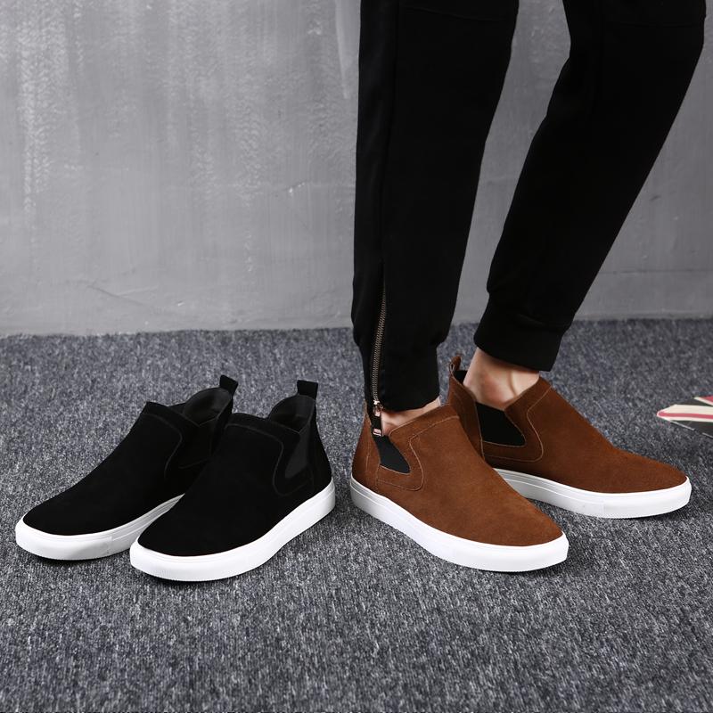 高帮反绒板鞋