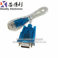 HL-340 USB to serial cable COM USB-RS232 USB nine-pin serial cable support win7-64 bit