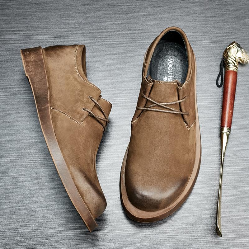 春款复古英伦鞋