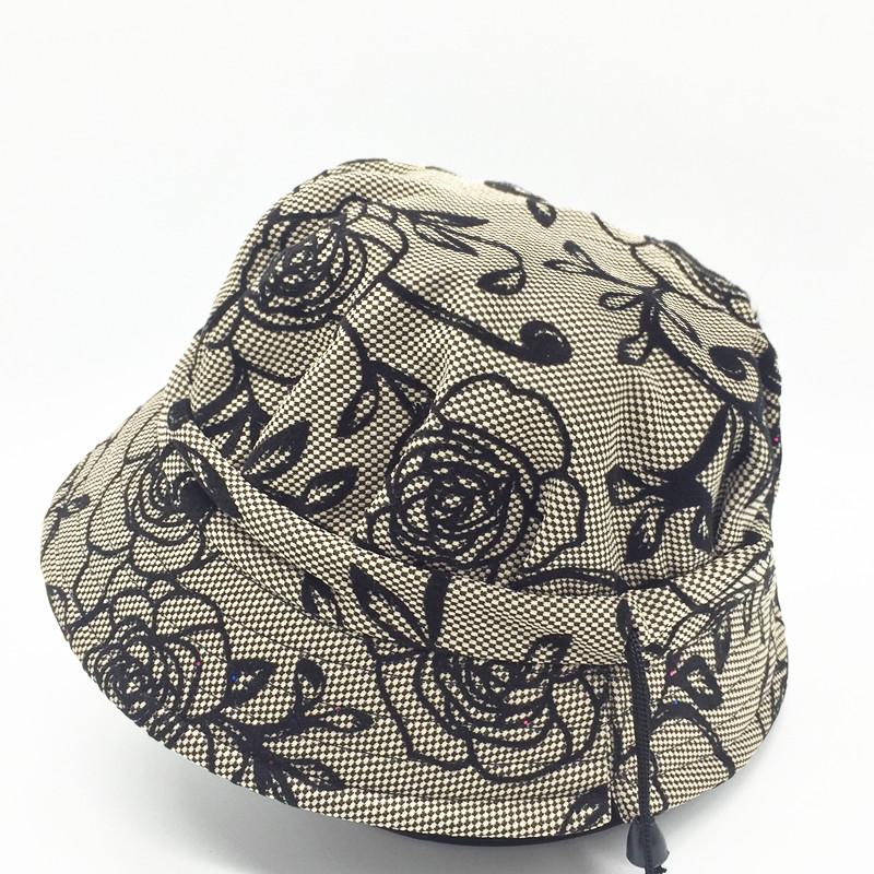 春秋中老年人帽子女士盆帽渔夫帽薄款遮阳帽老人帽女奶奶婆婆帽夏