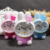 静音床头英寸台钟座挂两用时钟6欧式复古创意小闹钟迷你卧室挂钟
