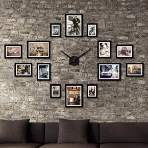 饭店西餐厅墙面装饰画咖啡厅馆奶茶店墙壁挂画个性复古背景照片墙
