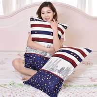 Pillowcase a pair of single pillows with adult students couple pillowcase female pillowcase male pillow leather pillowcase