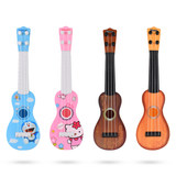Children's toys 10-year-old 4-year-old Ukrainian simulator toy coffee Mini KT jingle guitar