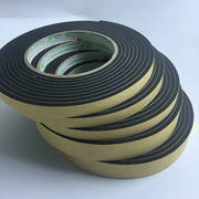 EVA black strong single-sided sponge tape foam foam tape anti-collision sealing strip 2 3 5mm thick