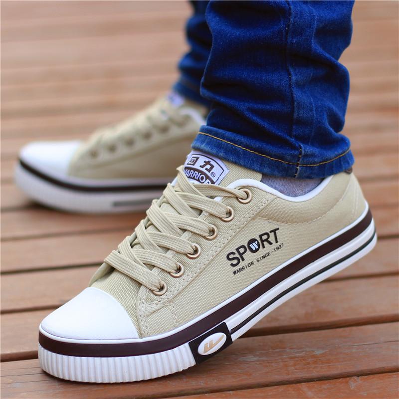 回力男鞋春季帆布鞋男士运动休闲鞋透气韩版板鞋男学生百搭潮鞋子