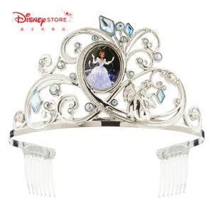 迪士尼商店 迪士尼公主艾莎公主白雪公主贝儿公主皇冠儿童发箍