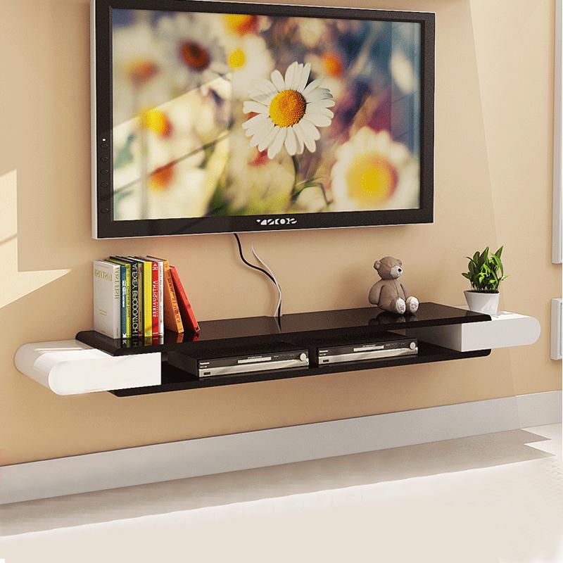 墙上挂的电视柜