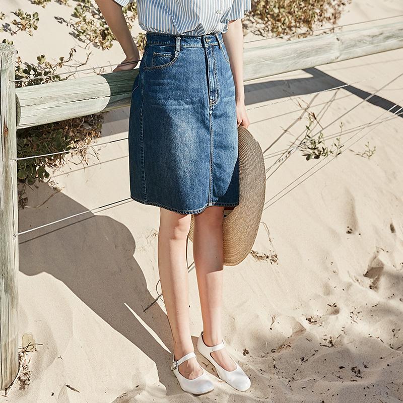 日系牛仔短裙