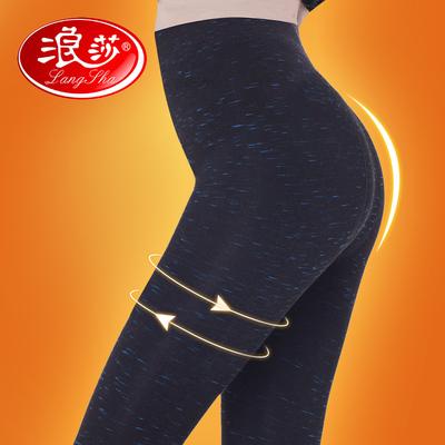浪莎打底袜裤女12000D竹炭棉加厚加绒保暖裤秋冬美腿丝袜连裤袜