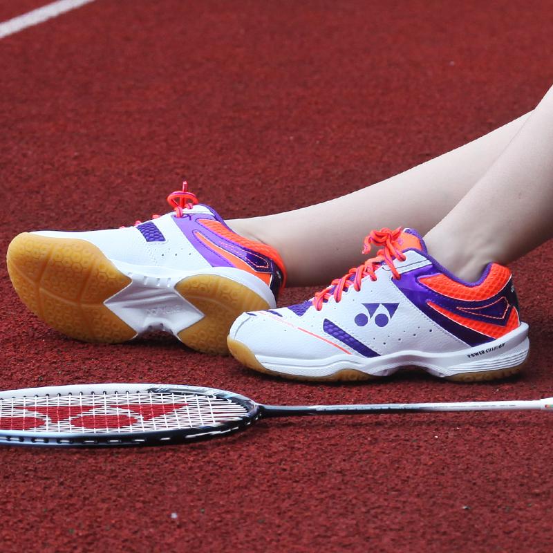 专柜正品尤尼克斯羽毛球鞋女鞋yonex女款运动跑步训练鞋超轻防滑