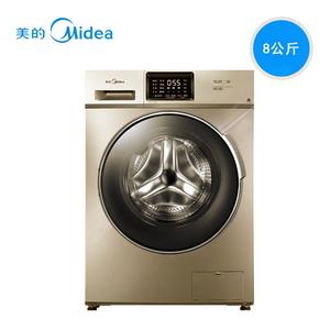 Midea/美的  MG80-1431WDXG  8公斤全自动滚筒变频智能WIFI洗衣机