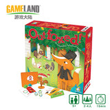 American Gamewright English original children's board game Outfoxed Fox for non-logical deductive reasoning